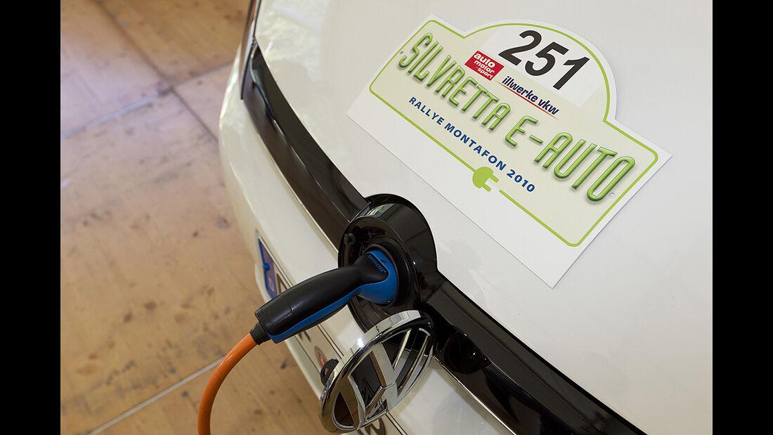 Silvretta E-Auto 2010, Elektroauto, E-Auto, Laden