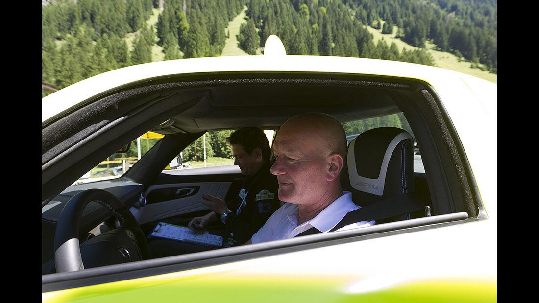 Silvretta E-Auto 2010, Elektroauto, E-Auto, Mercedes SLS AMG E-Cell, Audi E-Tron