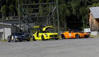 Silvretta E-Auto 2010, Elektroauto, E-Auto, Mercedes SLS AMG E-Cell, Audi E-Tron, Tesla Roadster