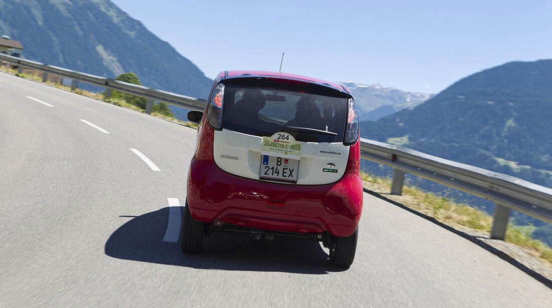Silvretta E-Auto 2010, Elektroauto, E-Auto, Mitsubishi i-MieV