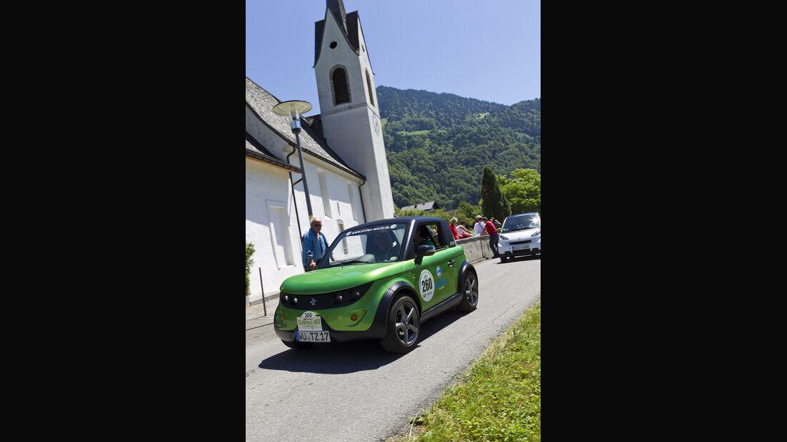 Silvretta E-Auto 2010, Elektroauto, E-Auto, Smiles Tazarri Zero