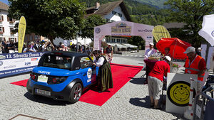 Silvretta E-Auto 2010, Elektroauto, E-Auto, Tazzari Zero