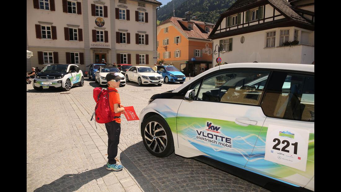 Silvretta E-Auto 2016, Leseraktion, Impressionen