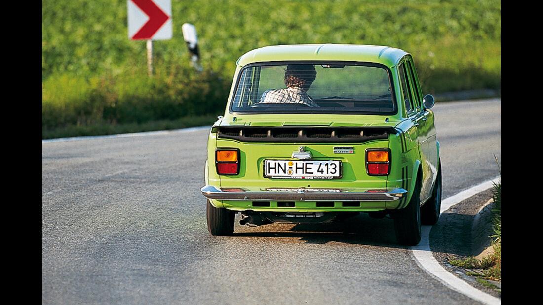 Simca 1000 - Fahraufnahme