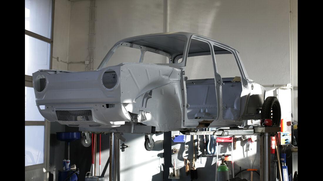 Simca 1000 Rallye 2, Chassis