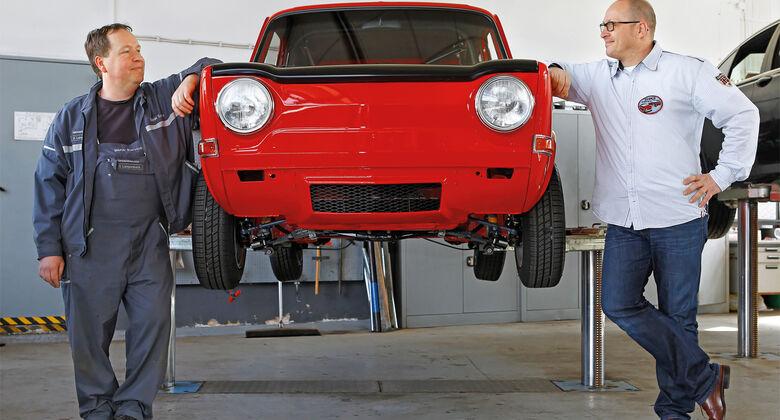 Simca 1000 Rallye 2, Frontansicht, Michael Kuhrs