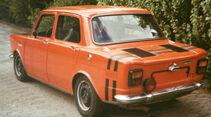 Simca 1000 Rallye 2, Heckansicht