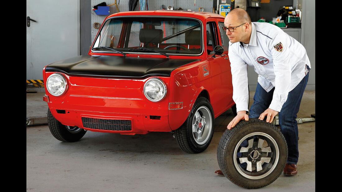 Simca 1000 Rallye 2, Michael Kuhrs, Frontansicht