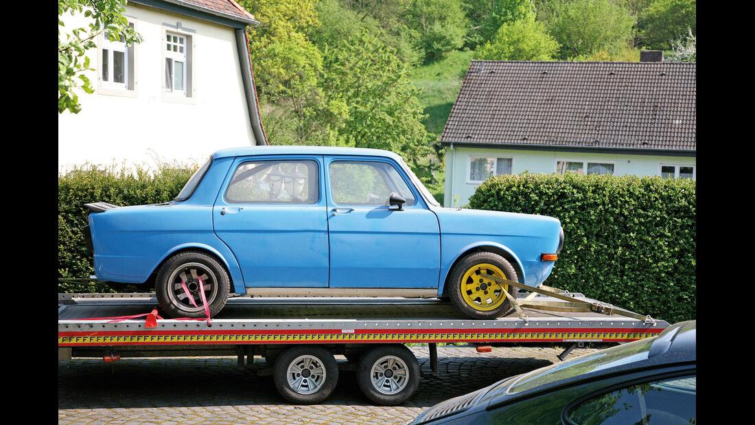 Simca 1000 Rallye 2, Seitenansicht