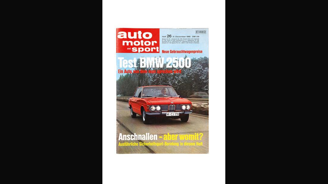 Simca 1501 Special, AMS-Titel