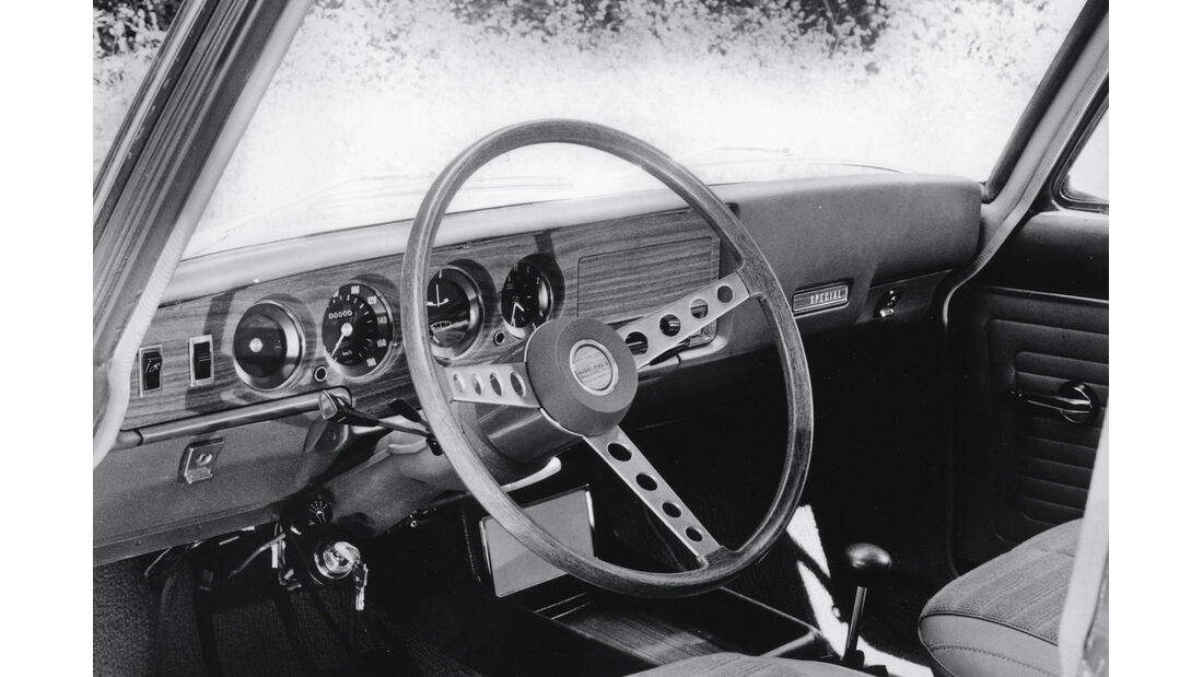 Simca 1501 Special, Cockpit, Lenkrad