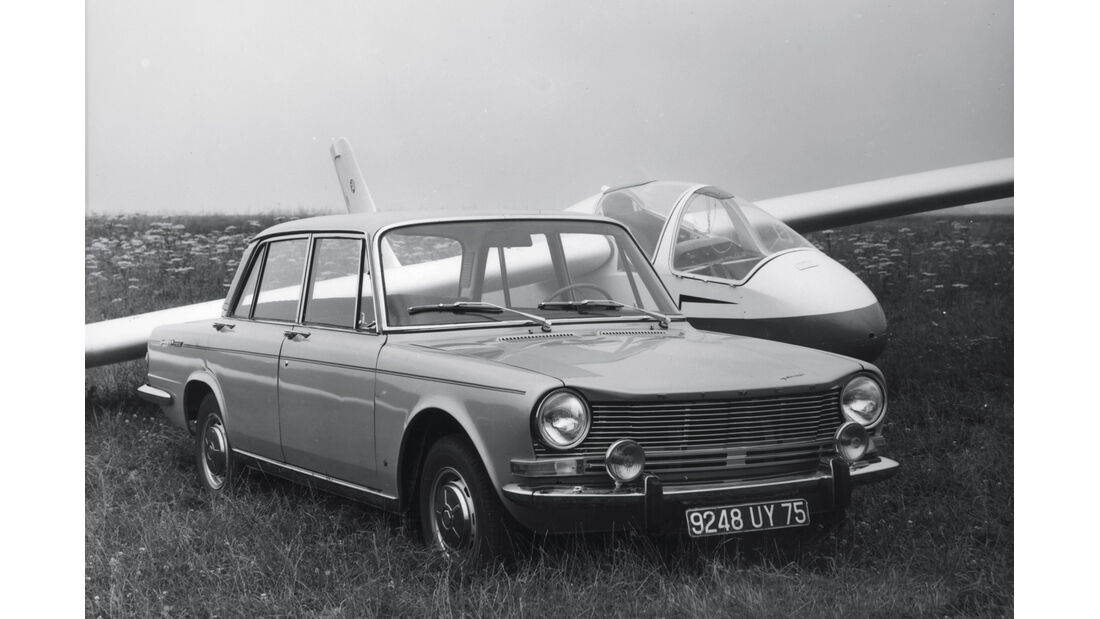 Simca 1501 Special, Frontansicht