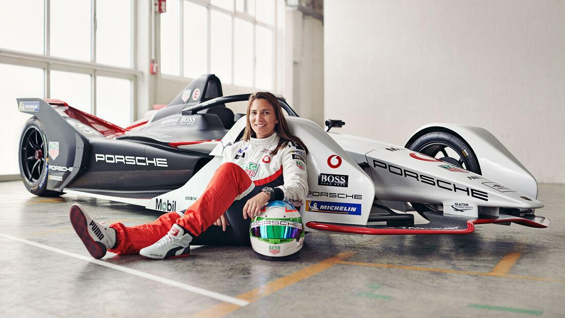 Simona de Silverstro - Formel E - Porsche