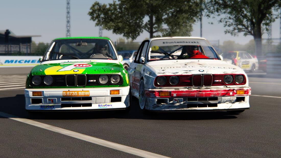 Simracing - BMW M3 E30 - Rumänien - 2020