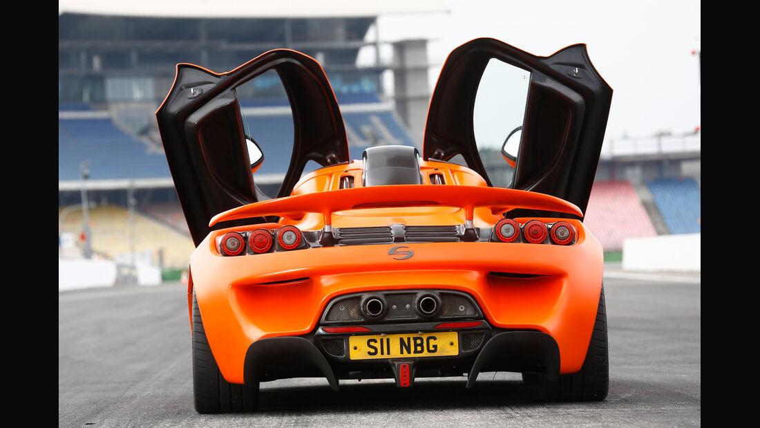 Sin Cars Sin R1, Flügeltüren