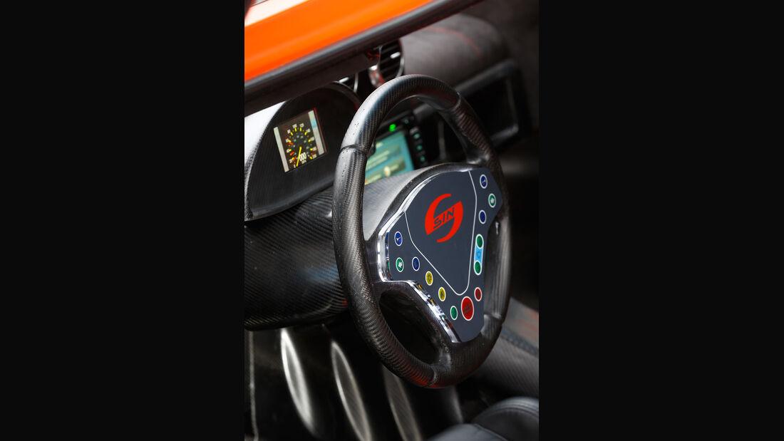 Sin Cars Sin R1, Lenkrad