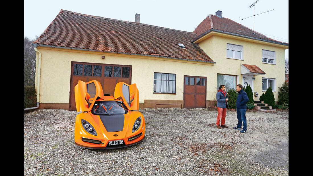 Sin R1, Sportwagen, Exot