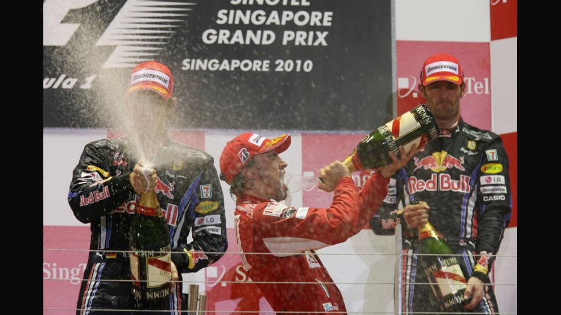Singapur Podium