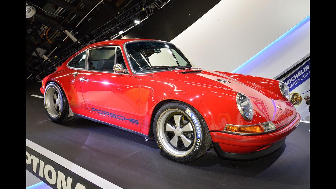 Singer Porsche Michelin Detroit Motor Show