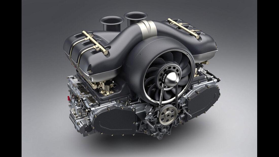 Singer Porsche Motor