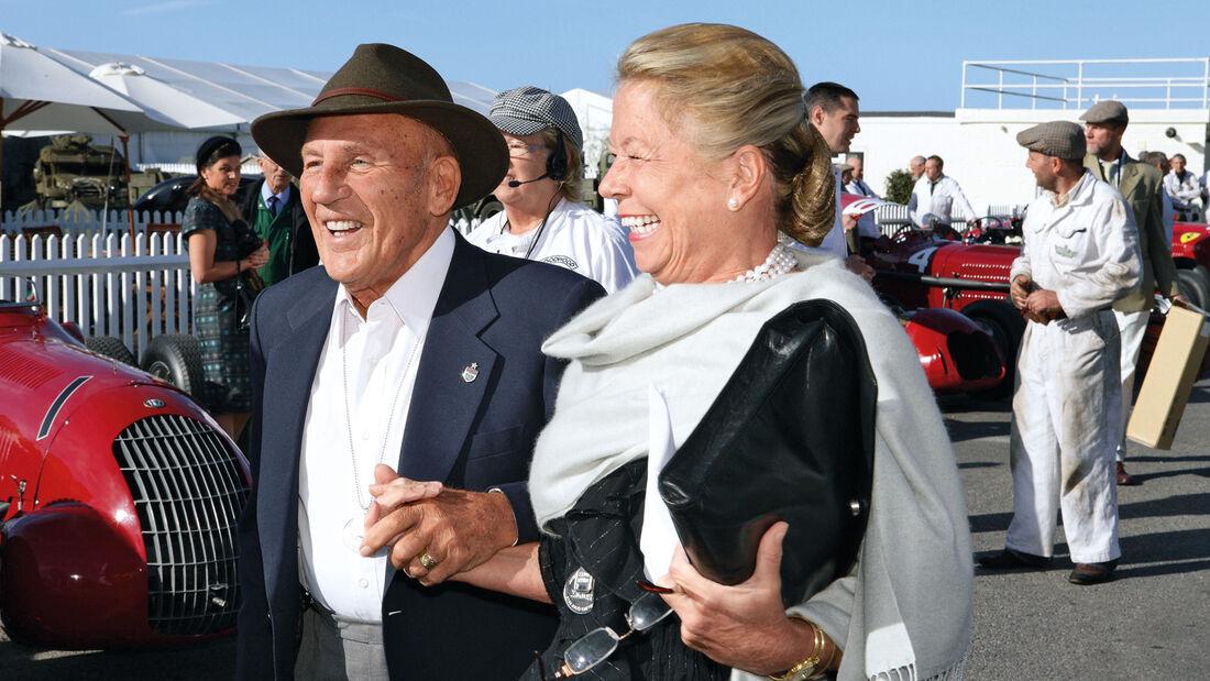 Sir Stirling Moss, Frau Susie, Goodwood