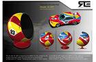 Sitzkugel BMW CSL 3.0 Art Car