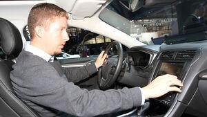 Sitzprobe Ford Mondeo Turnier Paris 2012 Dralle