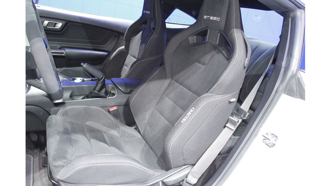 Sitzprobe Ford Mustang GT350 Jochen Knecht