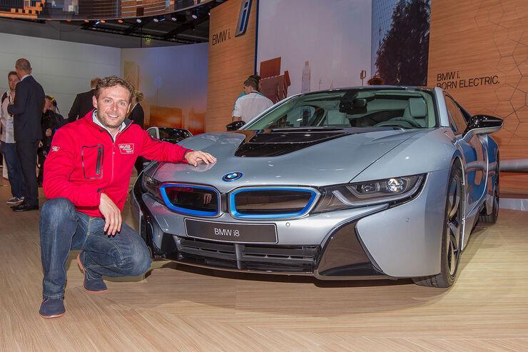 Sitzprobe IAA BMW i8 Alexander Bloch