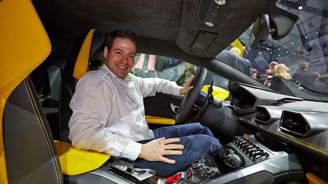 Sitzprobe Lamborghini Huracan