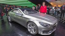 Sitzprobe Mercedes S-Klasse Coupé Concept