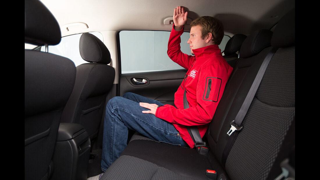Sitzprobe - Nissan Pulsar - Kompaktklasse