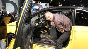 Sitzprobe Opel Adam Paris 2012 Stier