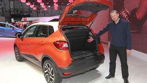 Sitzprobe Renault Captur Autosalon genf 2013 Markus Stier