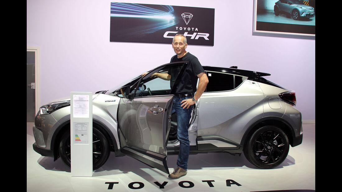 Sitzprobe Toyota CH-R Nutzfahrzeug-IAA Hannover 2016