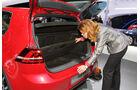 Sitzprobe VW Golf VII GTI Paris 2012 Priemer