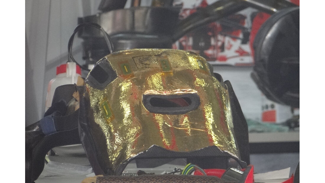 Sitzschale Ferrari - Formel 1 - GP China - 11. April 2012