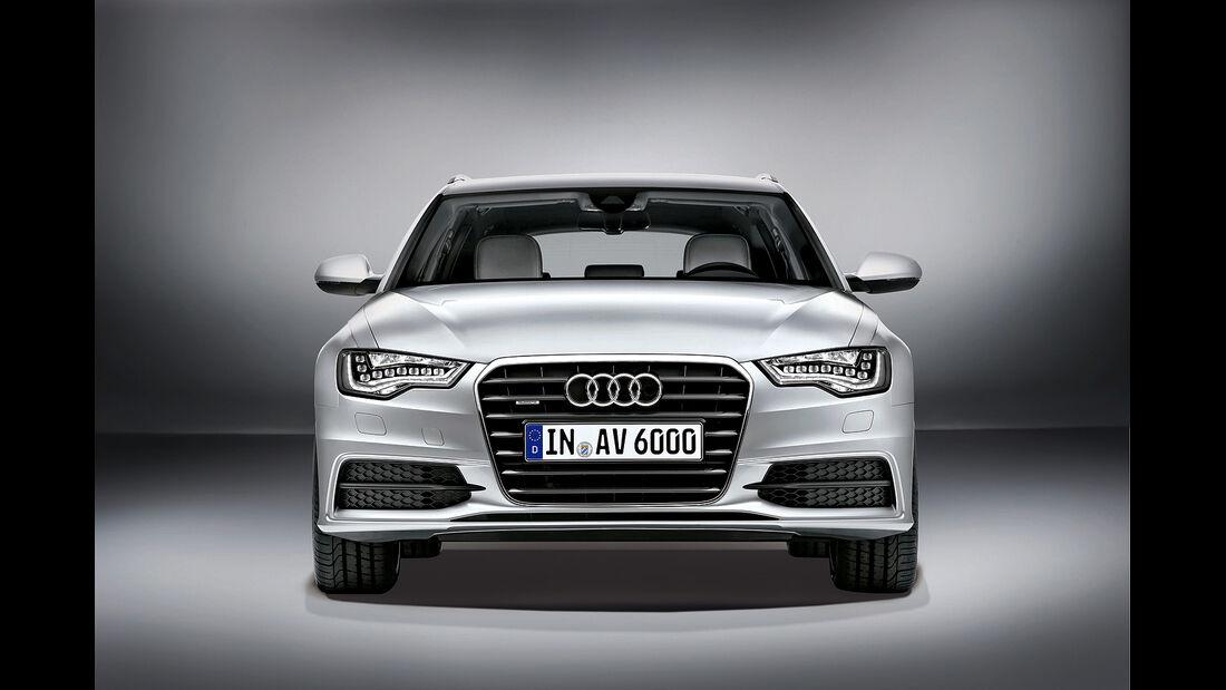 Sitztest, Audi A6 Avant