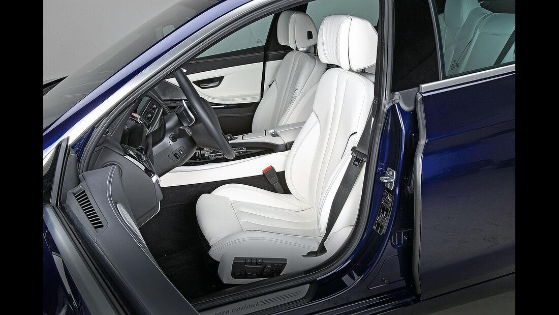 Sitztest, BMW 6er Gran Coupé