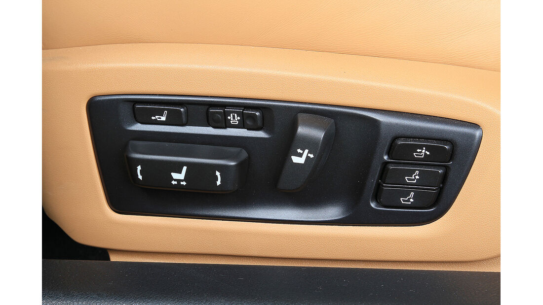 Sitztest, Lexus GS