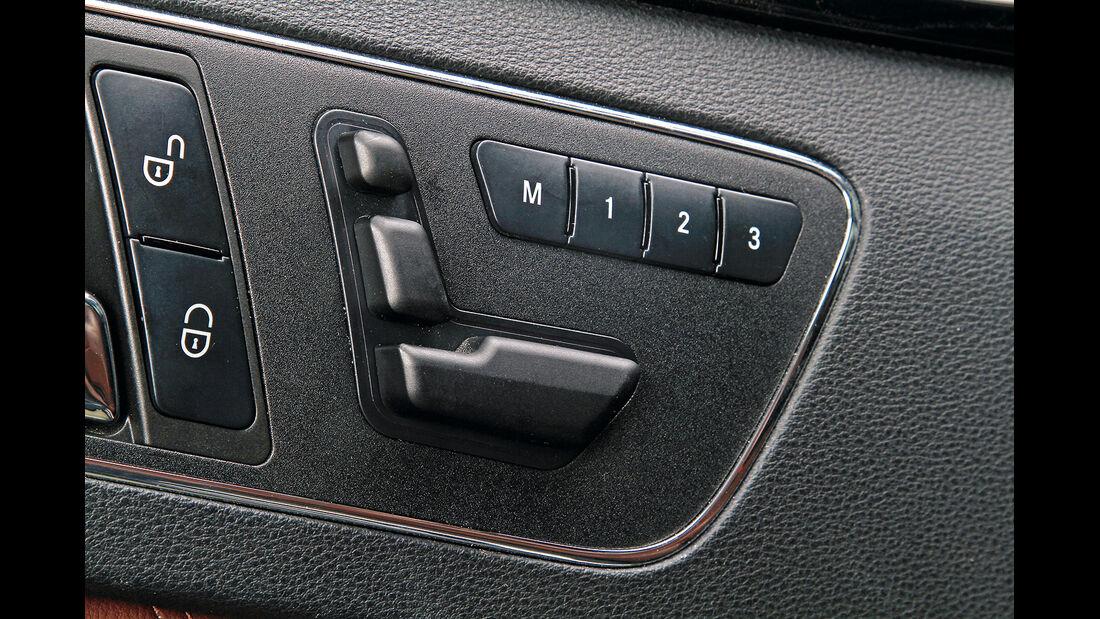 Sitztest, Mercedes E-Klasse