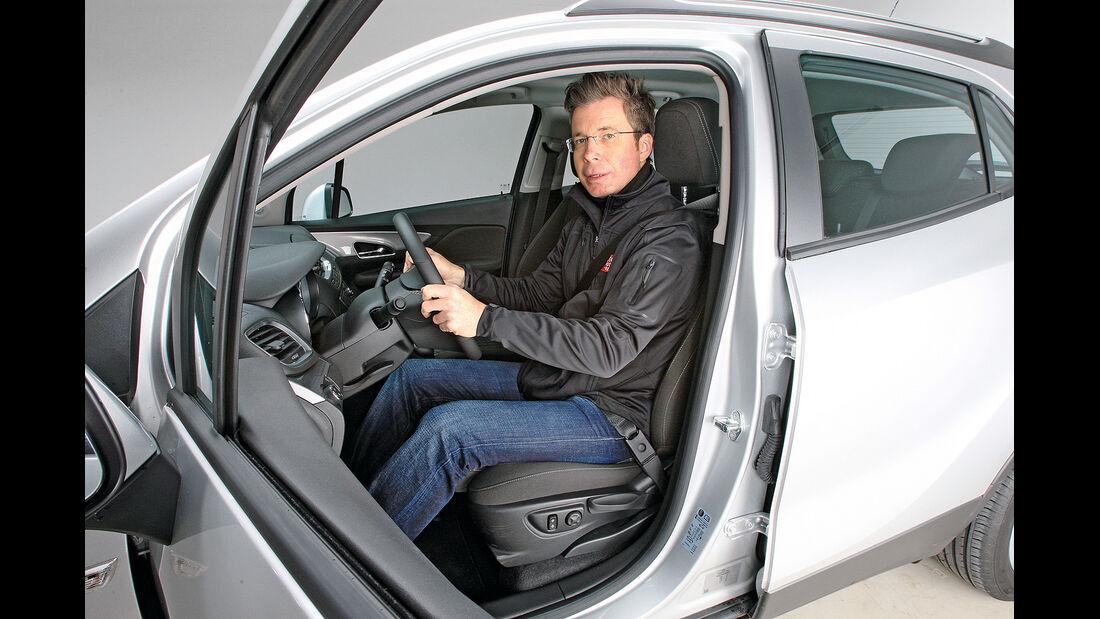 Sitztest, Opel Mokka