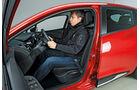 Sitztest, Renault Clio