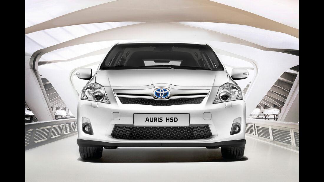 Sitztest, Toyota Auris