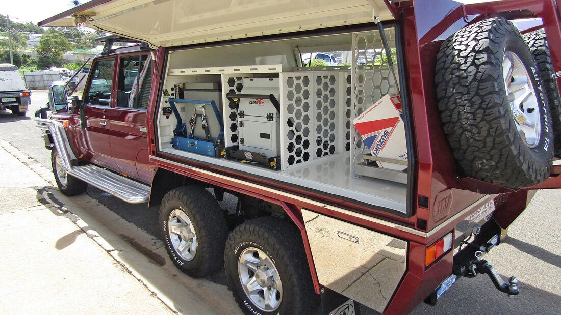 Six Wheeler Pickup-Umbau Australien
