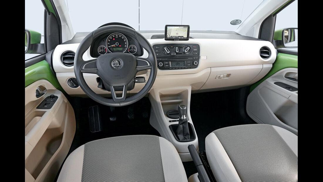 Skoda Citigo 1.0, Cockpit
