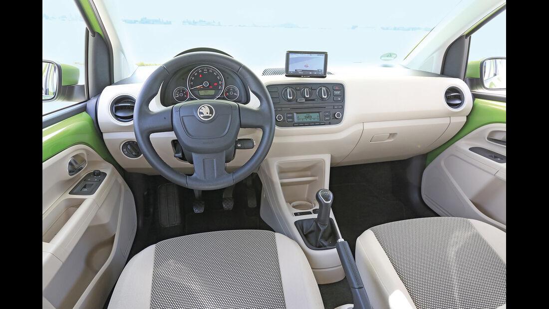 Skoda Citigo 1.0 Elegance, Cockpit