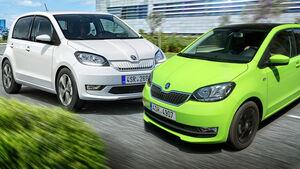 Skoda Citigo Benziner Elektro Leasing