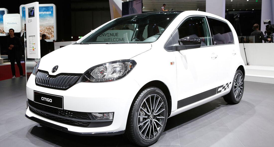 Skoda Citigo Facelift 2017