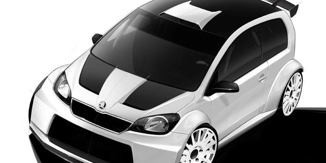 Skoda Citigo Rallye Studie Wörthersee